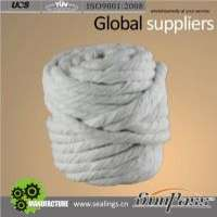 Thermal Insulation Rope Twisted Rope Braided Ceramic Fiber Rope Manufacturer
