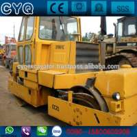 Used vibratory roller Road construction equipment