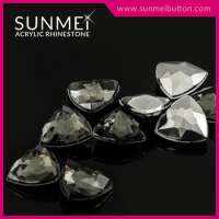 Colorful Plastic Acrylic Stones Shoes Decoration Accessories Manufacturer