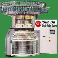 SUNDA Single Jersey Electronic Jacquard Striper Knitting Machine