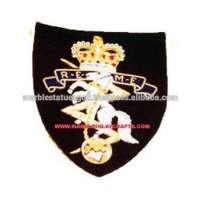 Embroidery Blazer Woven Badge