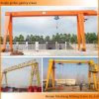 single girder gantry cranes Manufacturer
