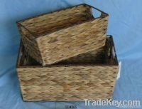 pvc willow paper string baskets