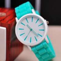 Fashion Designer Ladies sports silicone watches
