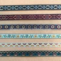 Embroidered Jacquard Ribbon