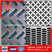 Decorative perforated metal sheet cabinets