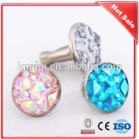 Acrylic Rhinestone rivets leather Manufacturer