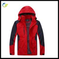 customized jogging wear waterproof outdoor camping cloth windproof sport jacket man and woman Manufacturer