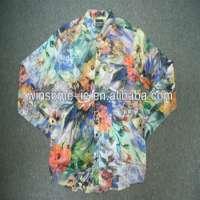 PolyesterCotton Mens printed shirt Manufacturer