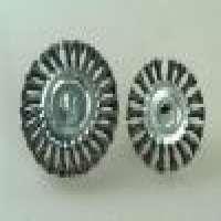 Twisted knot circular brushsteel wire brush Manufacturer