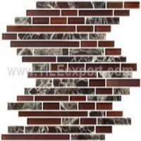 Glass marble mosaic tiles Manufacturer