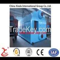 Double Drum Chaingrate Coalfired Water Boiler Manufacturer