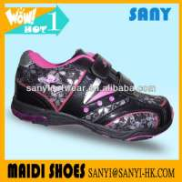 Breathable PVC Sport Shoes Girls Low Jinjiang Manufacturer