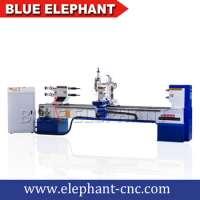 Baseball Bat CNC Copy Lathe Machine Wood Lathe Machine Cnc Wood Turning Machiney Double Blades Manufacturer