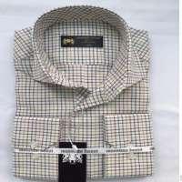Men's Long Sleeve Contrast Color Oxford Causal Dress Shirt Manufacturer