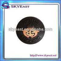 Two Colors 3D Raised Metal Sewing Button