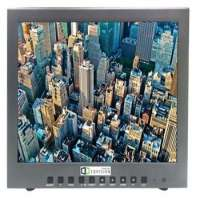 "23"" Wide LED Security Display Metal Frame Monitor 25D Comb Filter 1920x1080 RGBHDMICVBS 2 Channel inout SVideoAudio Manufacturer"