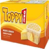 Toppy one White chocolate Cheese 210gr box Fresh cake Manufacturer