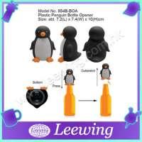 Cute Plastic Penguin Stainless Steel Bottle Opener Manufacturer