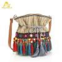 ethnic shoulder bag boho bag fabric shoulder bag women  Manufacturer