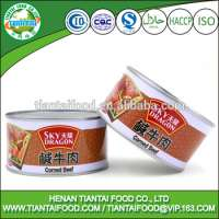 Processed Buffalo Meat in Cans Halal Manufacturer