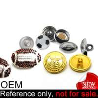 football metal buttons Manufacturer