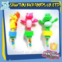 low sweet chewy fruit jelly candy toys