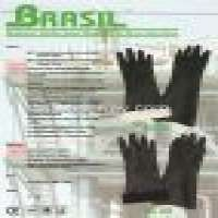 Brasil Neoprene Rubber Glove Bonded Terry Liner Glove Manufacturer