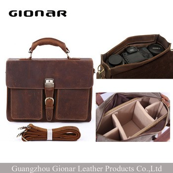 Moroccan Leather Handbags Leather Camera Bag Messenger Bag Men Shoulder Bag  Crazy Horse Leather From Guangzhou Gionar Leather Products Co. 3915c8ac7b2ca