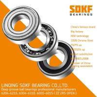 SDKF Brand 6205-2RS-ZZ Radial Bearing 25x52x15 Shielded Seal Ball Bearings  Manufacturer