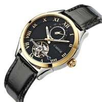 Men's WatchLeather Strap Quartz Watch Man Wrist Watch