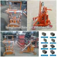 mobile concrete hollow block making machine Manufacturer