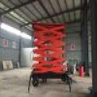 Electric hydraulic goods freight elevator warehouse cargo material scissor lifting platform  Manufacturer