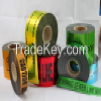 Metal Foil Tape and underground detectable warning tape Manufacturer