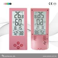 Transparent LCD Display Alarm Clock With Calendar Manufacturer