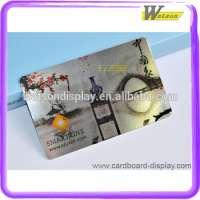 plastic smart card chip hair salon in shop