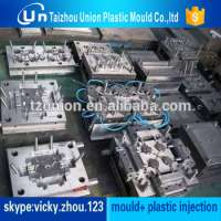 Industrial Plastic Pipe Fittings Components Multi Cavity Mold Mirror Surface Manufacturer