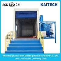 airless tumblast shot blasting cleaning machine Manufacturer