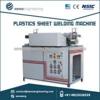 on Pneumatic Controlled HDPE Welding Equipment Impulse System Smooth Finishing of Welded Part Manufacturer