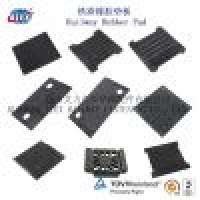Railway Rubber Pad Samples Rail Track Damping Pad Rubber Rail Pad Manufacturer
