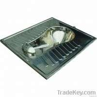Stainless Steel Squatting Pans Manufacturer