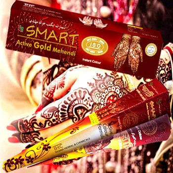 henna paste Smart Active Gold Henna paste Mehendi