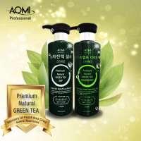 Green tea leaf shampoo