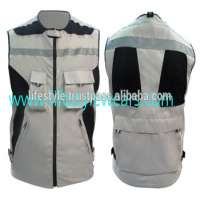 safety vest padding spocket pink safety vests pockets multi pocket work vest mens Manufacturer