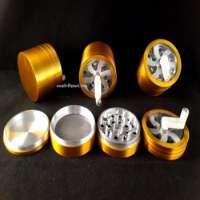 Metal Handle Herb Glass Smoking Pipes Manufacturer