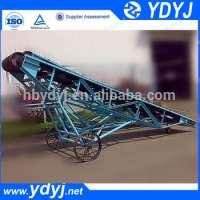 flexible portable sand conveyor industrial use Manufacturer