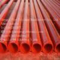 SJ DN100 4inch ST37 concrete pump straight pipe Manufacturer