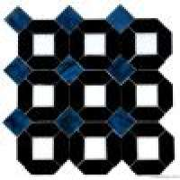 stained glass back match blue mosaic Manufacturer