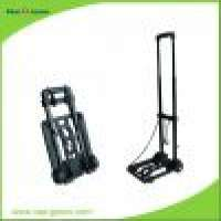 Plastic Smart Quick Set Up Folding Luggage Cart Wheels Manufacturer