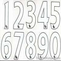 1213 FA Premier League Home Number Soccer Jersey Numbe Manufacturer